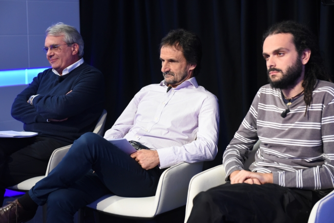 Alex Torpiano, Guido Dalli and Andre Callus
